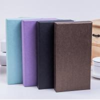 China Generous Kraft Paper Jewelry Boxes With Embossing / Stamping Printing on sale