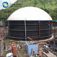 Quality Bolted Steel Anaerobic Digestion Tank With Customized Tank Colors for sale
