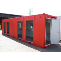 China Dormitory Custom Made 40ft Modified Metal Shipping Container Homes on sale