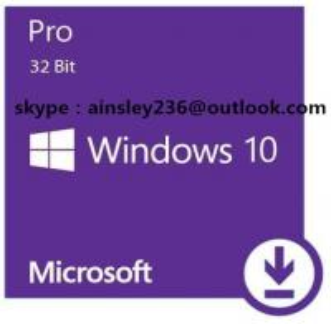 Quality OEM Software Windows 10 Key Code , Windows License COA Sticker Win 10 Home / Pro for sale