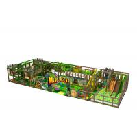 Quality Middle Size Kids Indoor Playground Equipment Inside Jungle Gym Anti Crack for sale