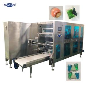 Quality Automatic PVA Film Liquid Cube Laundry Pod Packaging Machine for sale