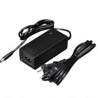 China 121 * 54 * 30mm Desktop Power Supply Adapter , Black / White 65w Ac Adapter on sale