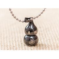 Quality Lucky Cucurbit Buddhist Symbol Necklace Gourd Pendant Chinese Styles for sale