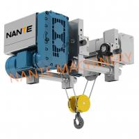 Quality 2T Ultra Low Headroom Hoist NHA Wire Rope Electric Power Hoist For Workshop for sale