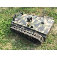 Quality Black Robot Tri-Track Chassis Kit,Remote Control Available 2150mm*1300mm*1200mm for sale