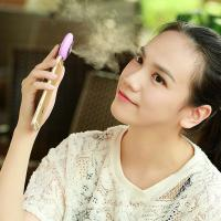 Quality Mini Mobile Phone Mist Moisturizing Beauty Instrument Portable Water Replenishment Mini Humidifier Facial Water Spray for sale