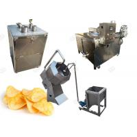 Quality 100KG / H Automatic Cassava Chips Making Machine Plant Stainless Steel for sale