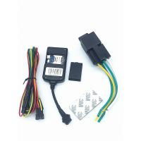Quality Black High Sensitive Auto Gps Tracking Device Built - in GPS And GSM Antenna for sale