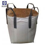 Quality 4 Cross Corner Loops Super Sacks Bags For Building Sand 1000KGS 100% Virgin Polypropylene Material for sale
