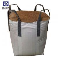 Quality 4 Cross Corner Loops Super Sacks Bags For Building Sand 1000KGS 100% Virgin Polypropylene Material for sale