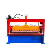 Buy Single Layer Corrugated Roll Forming Machine , Corrugated Steel Panel Roll at wholesale prices