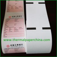 China 57x40, 57x50 Pre-Printed Thermal Paper Roll on sale