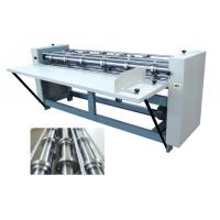Quality Six Shaft Slitting Creasing Machine, Rotary Slitting + Creasing for sale