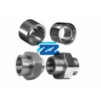 Quality Screwed Socket Weld Tube Fittings , Stainless Steel High Pressure Pipe Fittings for sale
