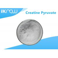 China 99% Creatine Pyruvate Supplement Raw Material CAS 55965 97 4 White Powder on sale