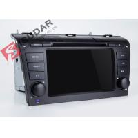 Quality Mazda 3 Touch Screen Head Unit , Wifi Modem Android Gps Car Stereo With Mirrorlink Technology for sale