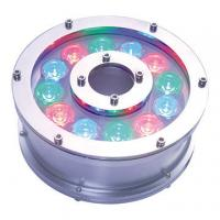 Quality 12W RGB LED underwater light,made of stainless steel 316 for sale