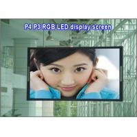 China P4 led dot matrix display module indoor rgb 64*32 1/16scan led panel billboard screen moving digital sign board panel on sale