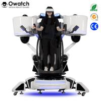 Quality Latest Publish Game Equipment Exciting Shooting 9D Vr Standing Platform Fly Motion Simulator for sale