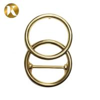 Quality Heavy Retro Ring Zinc Alloy Belt Buckle 40MM With Elegant Appearance for sale
