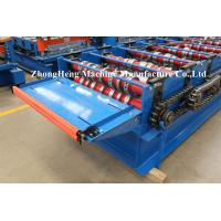Quality Joint Hidden Color Coated Metal Roof Roll Forming Machine For Wall Panel Making for sale