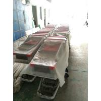 Buy Coated Metal Steel Grocery Store Powder Shopping Trolley With 4 Wheel , SGS / at wholesale prices