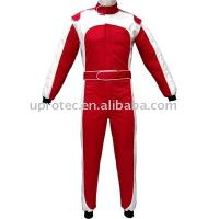 China Flame Retardant Protective Nomex Auto Racing Suits White Red Blue Black XS - XXXXL on sale