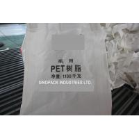 Polypropylene Circular / Tubular big bag FIBC for PET resin packing