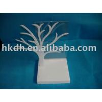 Quality Customized White Tree Countertop Acrylic Display Case for sale