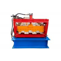 Quality PLC Control System Floor Deck Roll Forming Machine For Construction Building for sale