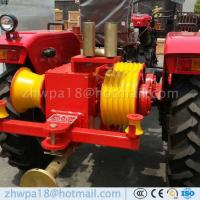 Quality High duty Tractor Capstan winch cable puller Mountable Drum Winch for sale