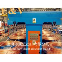 Quality Low Oxygen 8mm Copper Rod Upward Casting Machine With 7920H Working Hour for sale