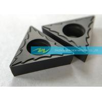Quality Steel Finishing Carbide Turning Inserts With Excellent Chip Breaking Effect for sale