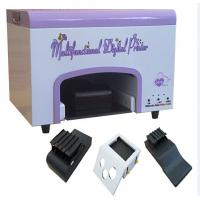 China Multi - Function Digital Nail Printing Machine For Egg , Fruit , Rose Print on sale