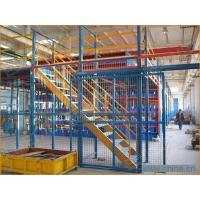 Quality Steel Adjustable Warehouse Steel Shelving With 120 X 95mm Upright Section for sale