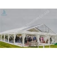 Quality Outside Transparent Top Aluminum Frame Tent Wedding Party Event Marquee for sale