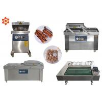 Quality DZ-1100 Continous Vacuum Food Packaging Sealing Equipment For Rice / Meat for sale