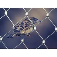 Quality Plain Weave Stainless Steel Aviary Mesh , Stainless Steel Bird Cage Screen Mesh for sale