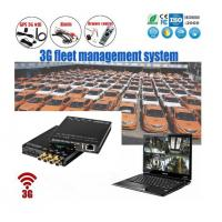 China Portable Mini 4Ch SD Card Recording HD Mobile DVR With 3G GPS WIFI For Taxi on sale