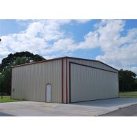 Quality Light Weight Steel Aircraft Hangar Buildings Attractive Appearance Eco Friendly for sale