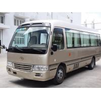 Quality 13 Seats Used Toyota Bus , Toyota Coaster Used Bus With Luxury Inner Decoration for sale