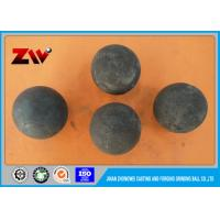 Quality Low Carbon High Chrome Grinding Balls For Mining buyer forged and cast balls for sale