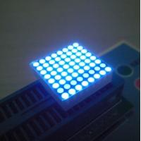 China Ultra Blue Outdoor 8X8 Dot Matrix Display 0.8 Inch 1.9m with Information screen on sale