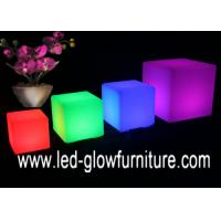 Buy cheap AC100 - 240V Unique Glow LED Cube Furniture , Fashionable led lighting furniture from wholesalers