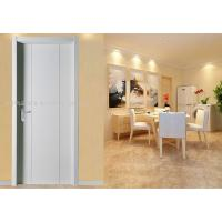 Quality White MDF Wood Doors Thickness 35 40 45mm with SS304 Hinge Stopper Closer for sale