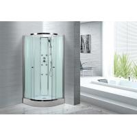 Quality Spacious Extra White Glass Shower Cabins For Country Clubs / Real Estate Property for sale