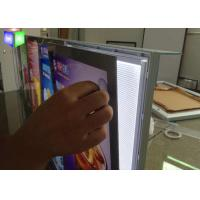 Buy CE Picture Frame LED Menu Board , Illuminated Menu Boxes For Restaurants at wholesale prices