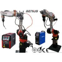 Quality Automobile MIG Welding Robot Space Saving Preengineered Heavy Duty Boost Cycle Time for sale