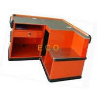 Quality Supermarket Cash Desk Grocery Store Checkout Counters , Clothing Store Checkout Table Stand for sale